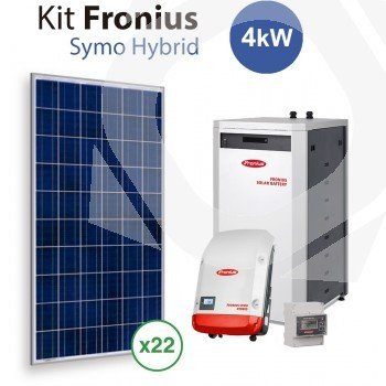 kit solar autoconsumo bater as fronius symo hybrid 4kw. Black Bedroom Furniture Sets. Home Design Ideas