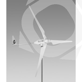 Aerogenerador WIND 25.3 plus de 5000W colaboración con la UPV
