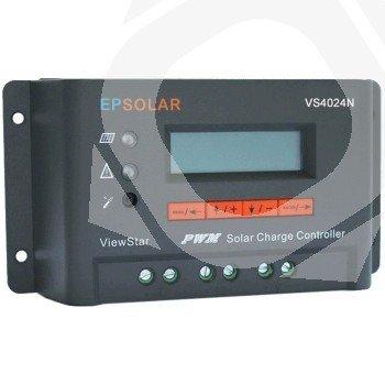 Regulador EPSolar VS4524N 12/24V y 45A. Display LCD