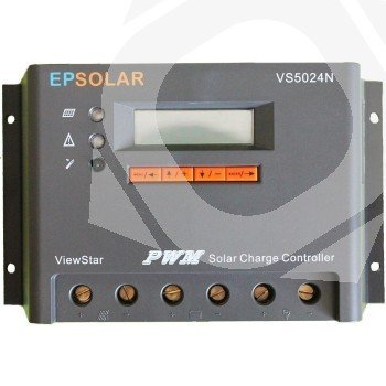 Regulador EPSolar VS6024BN 12/24V y 60A