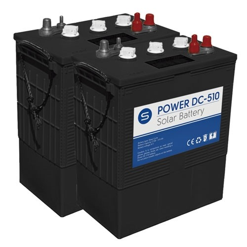 Bater 237 A Solar 12v Ciclo Profundo 315ah 510ah Power Dc