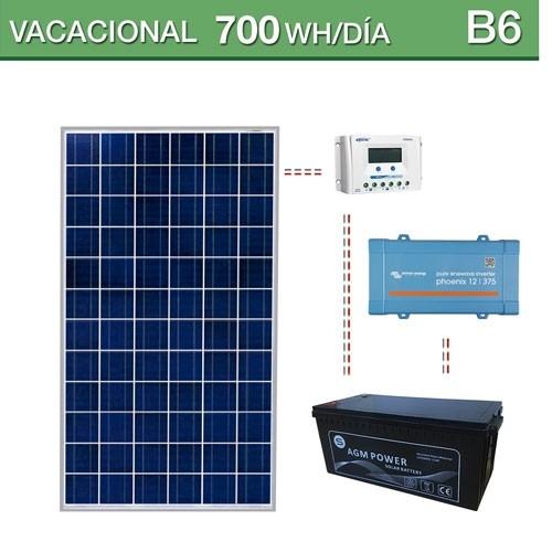 Kit Solar B 225 Sico Con Bater 237 As De 260ah Paneles De 150