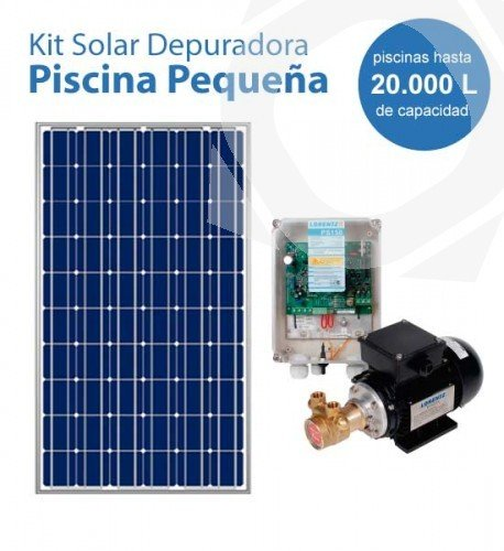 Depuradora de piscina depuradora piscina superficie for Kit bomba solar para piscinas