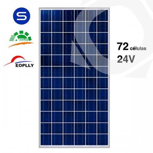 Placas solares de 24v precios y potencias for Placas solares precios