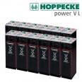 Baterías HOPPECKE 24V Power VL 2-920 de 1220Ah en C100 (8 OPzS 800)
