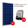 Kit solar Autoconsumo Directo FRONIUS Primo de 1,9kWp (2800 kWh/año)