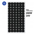 Panel Solar 24V y 200W SCL monocristalino