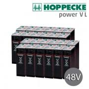 Batería estacionaria 48V Hoppecke Power VL 2-390