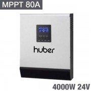 Inversor cargador Huber mppt4024 de 4000W y 24v con MPPT 80A