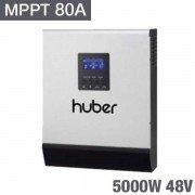 Inversor Huber mppt5048 de 5000W y 48v con MPPT 80A