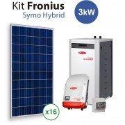 Kit Solar Autoconsumo Baterias Fronius Symo Hybrid 3Kw