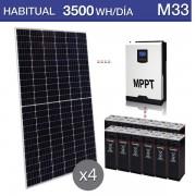 Kit de placas solares jinko M33
