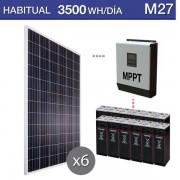 Kit de placas solares M27