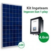 Kit solar autoconsumo Directo Ingeteam 1Play de 8200kwh