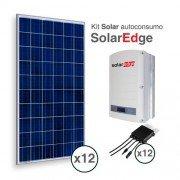 Kit solar de autoconsumo directo solaredge
