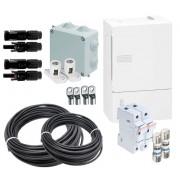Material eléctrico k4 para instalaciones aisladas con 2 strings
