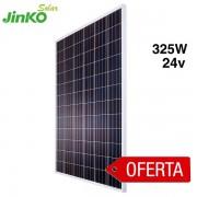 Oferta placa solar 325w jinko de 24v
