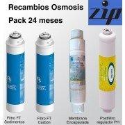 Recambio filtros osmosis Puricom ZIP