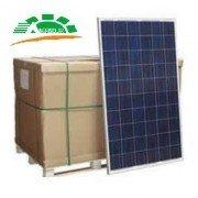 Palé con 30 unidades del panel solar Amerisolar de 280 watios pico