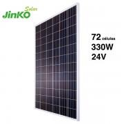panel solar jinko 330Wp y 24v