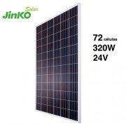 Modulo fotovoltaico Jinko Solar de 320Wp y 24 voltios con 72 células policristalinas