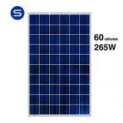 Panel solar 265W de 60 células SCL policristalino