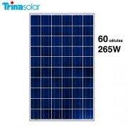 Panel solar 265W y 60 células Trinasolar