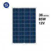 Placa solar pequeña de 12V y 85W SCL