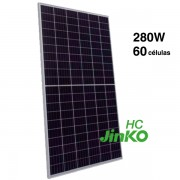 Placa solar 280W Jinko HC poli 60 celulas