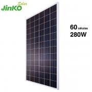 placa solar jinko 280w 60 células solares