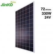 Placa solar jinko 330w poli 24v