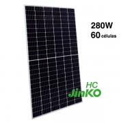 Placa solar 280W Jinko HC mono 60 celulas