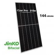 Placa solar BIFACIAL 515W Jinko Tiger PRO TR+HC