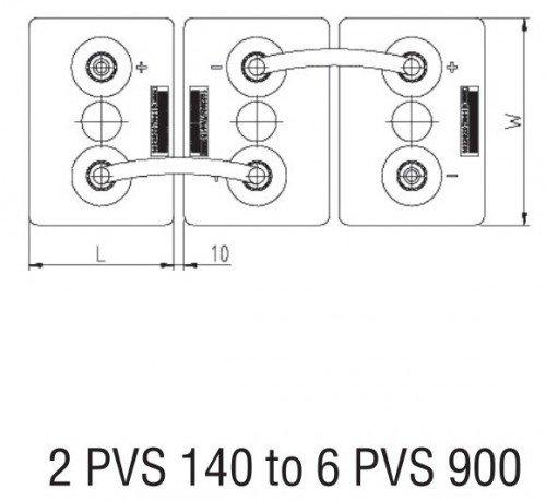 Bateria Estacionaria Bae Secura 6 Pvs 660 12v 595 Ah C100