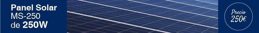 Panel solar de 250W y 60 células