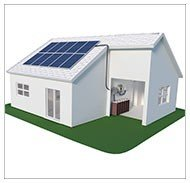 Kits solares para viviendas aisladas