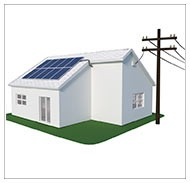 Kits solares autoconsumo conectado a red