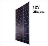 Paneles solares fotovoltaicos 12v